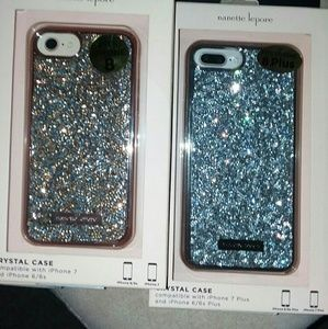 Nanette Lepore`Crystal InCrusted`iPhoneCovers6-7-8